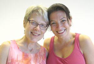 Mindfulnesslærere Lynn Koerbel & Esen
