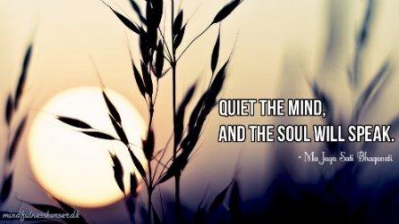 mindfulness citater - ma jaya sati bhagavati