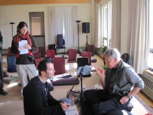 Mindfulnesslærere Kenan og Jon Kabat-Zinn - 2