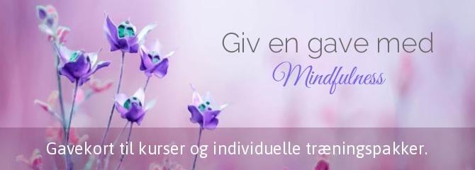 gavekort mindfulness kursus